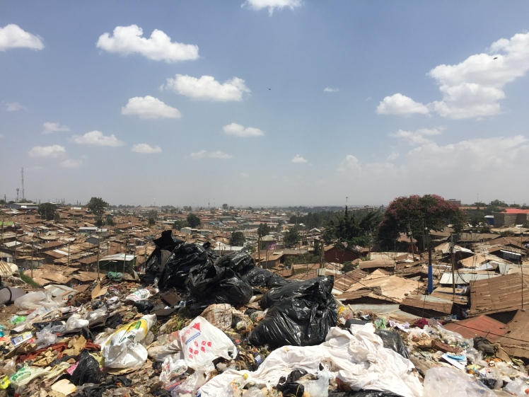view of Kibera